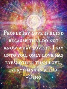 everything else is blind